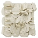 StyleCraft Accessories Ivory Accent Pillow - Item Number: HFS20039