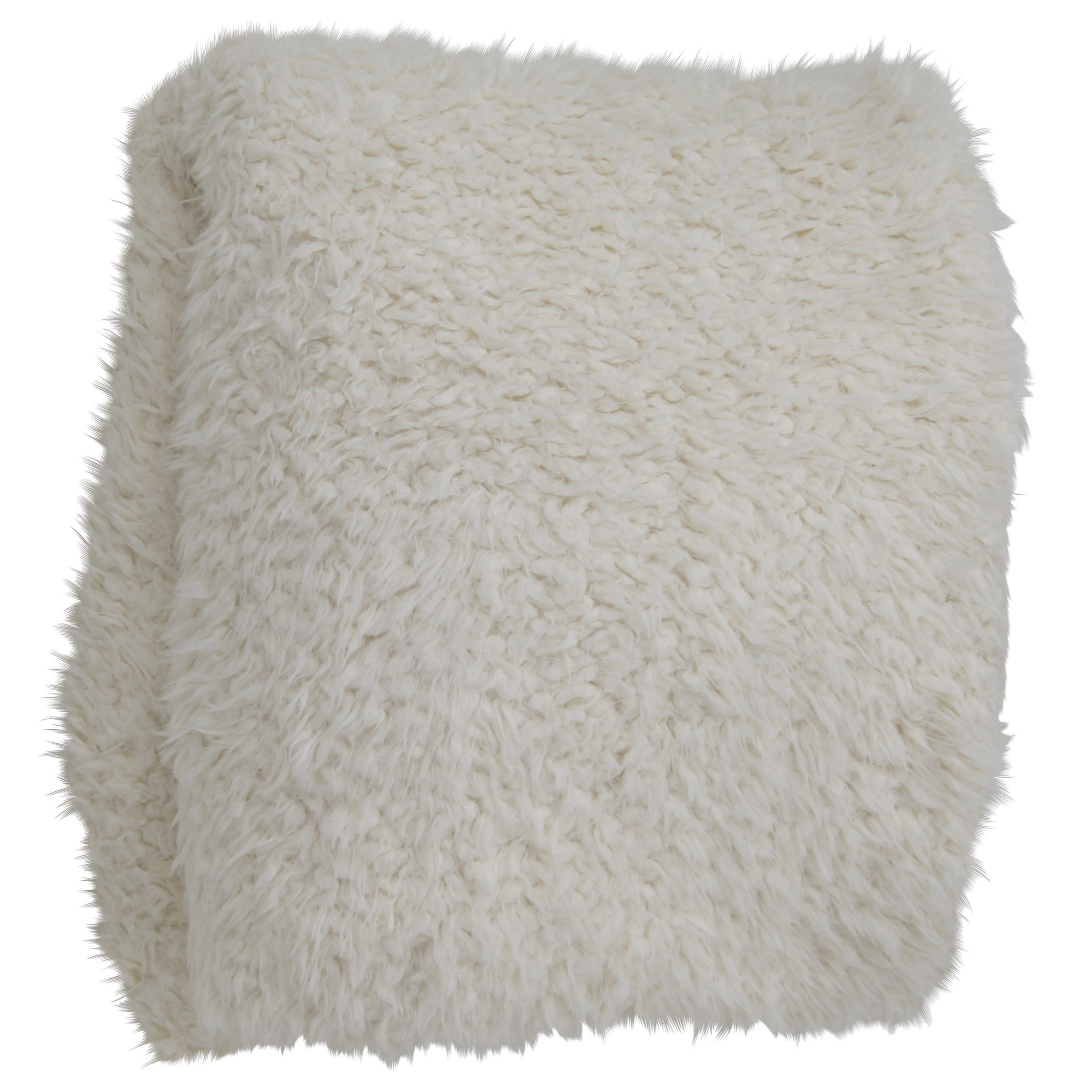 Accessories Oversized Faux Fur Throw Blanket by StyleCraft at Alison Craig Home Furnishings
