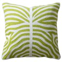 StyleCraft Accessories Green and White Accent Pillow - Item Number: HFS20059