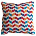StyleCraft Accessories Multi-Colored Accent Pillow - Item Number: HFS20072