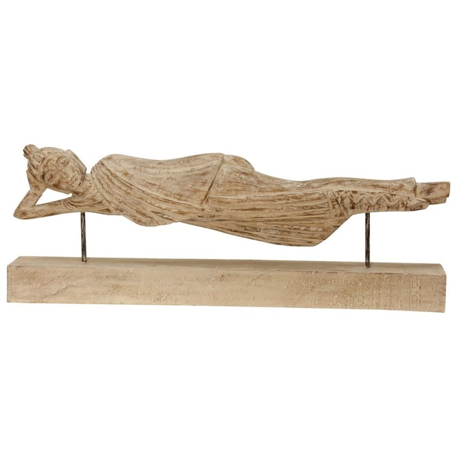 Accessories Vintage Wood Carving by StyleCraft at Alison Craig Home Furnishings