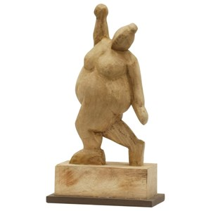 StyleCraft Accessories Carved Wood Sculpture