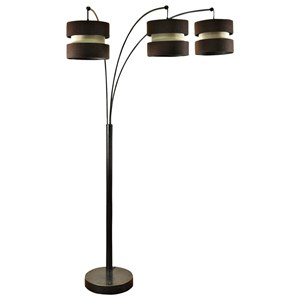 Lamps 3 Arm Floor Lamp by StyleCraft