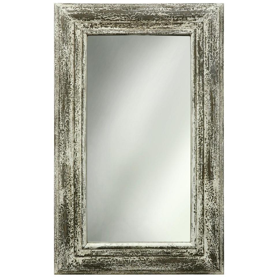 StyleCraft Accessories White Weathered Mirror - Item Number: ST-2607