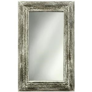 StyleCraft Accessories White Weathered Mirror