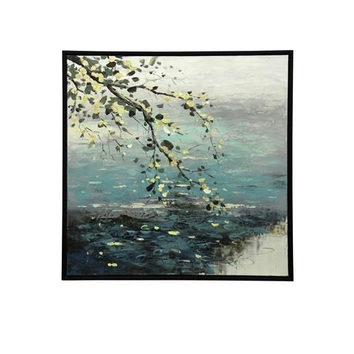Dipping Tree Branch Canvas