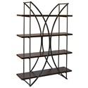 StyleCraft Bookshelves Four Shelf Bookcase - Item Number: SF24839