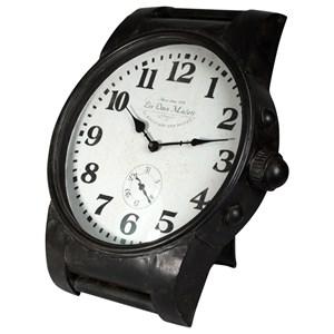Black Iron Clock