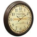 StyleCraft Clocks Wall Clock - Item Number: WC2111