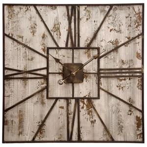 StyleCraft Clocks Rustic Wall Clock