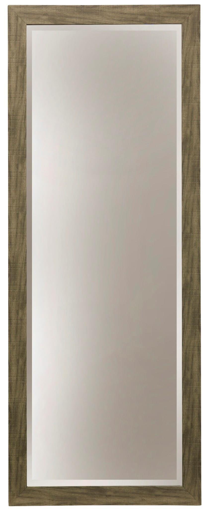 GREY GRAIN WALL MIRROR