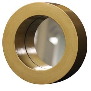 Gold Port Hole Mirror