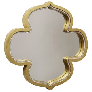 StyleCraft Mirrors Gold Kathleen Mirror With Clear Glass