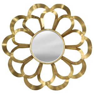 StyleCraft Mirrors Round Metal Wall Mirror