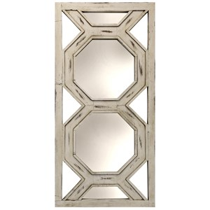 Large Weathered Leaner or Headboard Mirror