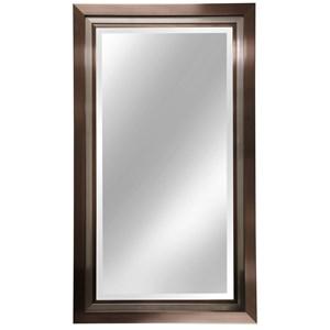 Dark Bronze Triple Framed Mirror