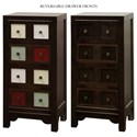 StyleCraft Occasional Cabinets Accent Chest with Reversible Drawer Fronts - Item Number: DCA7410