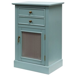 Doored Cabinet with Drawer