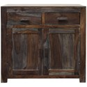 StyleCraft Occasional Cabinets 2 Door, 2 Drawer Sideboard - Item Number: ISF2253