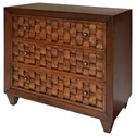 StyleCraft Occasional Cabinets 3 Drawer Cabinet  - Item Number: SF24797