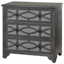 StyleCraft Occasional Cabinets 3 Drawer Wooden Chest - Item Number: SF24831