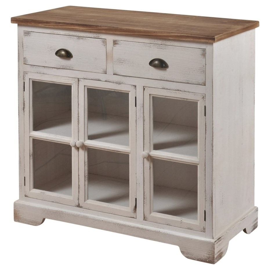 Shabby Chic 3 Door 2 Drawer Cabinet
