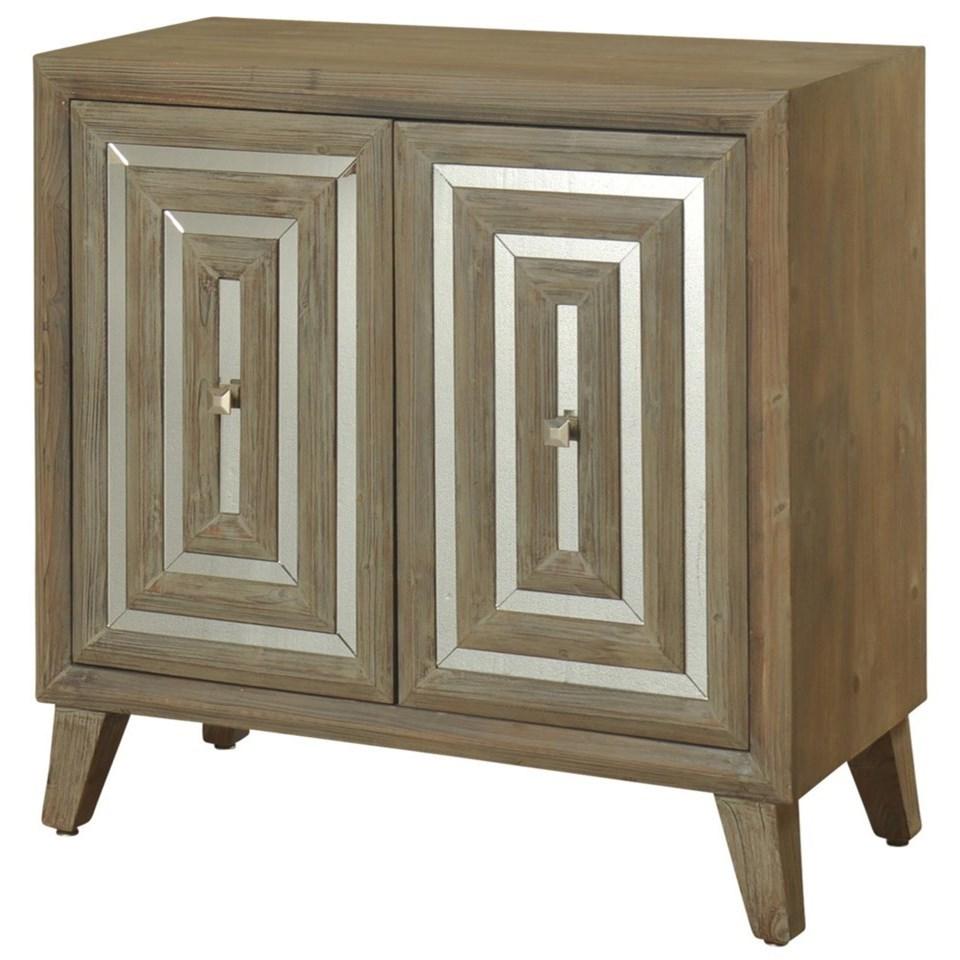 2 Door Mirrored Cabinet