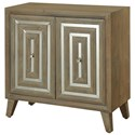 StyleCraft Occasional Cabinets 2 Door Mirrored Cabinet - Item Number: SF24971