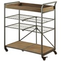 StyleCraft Occasional Tables Grant Cart - Item Number: SF25204
