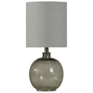 Mini Spanish Glass Ball Lamp