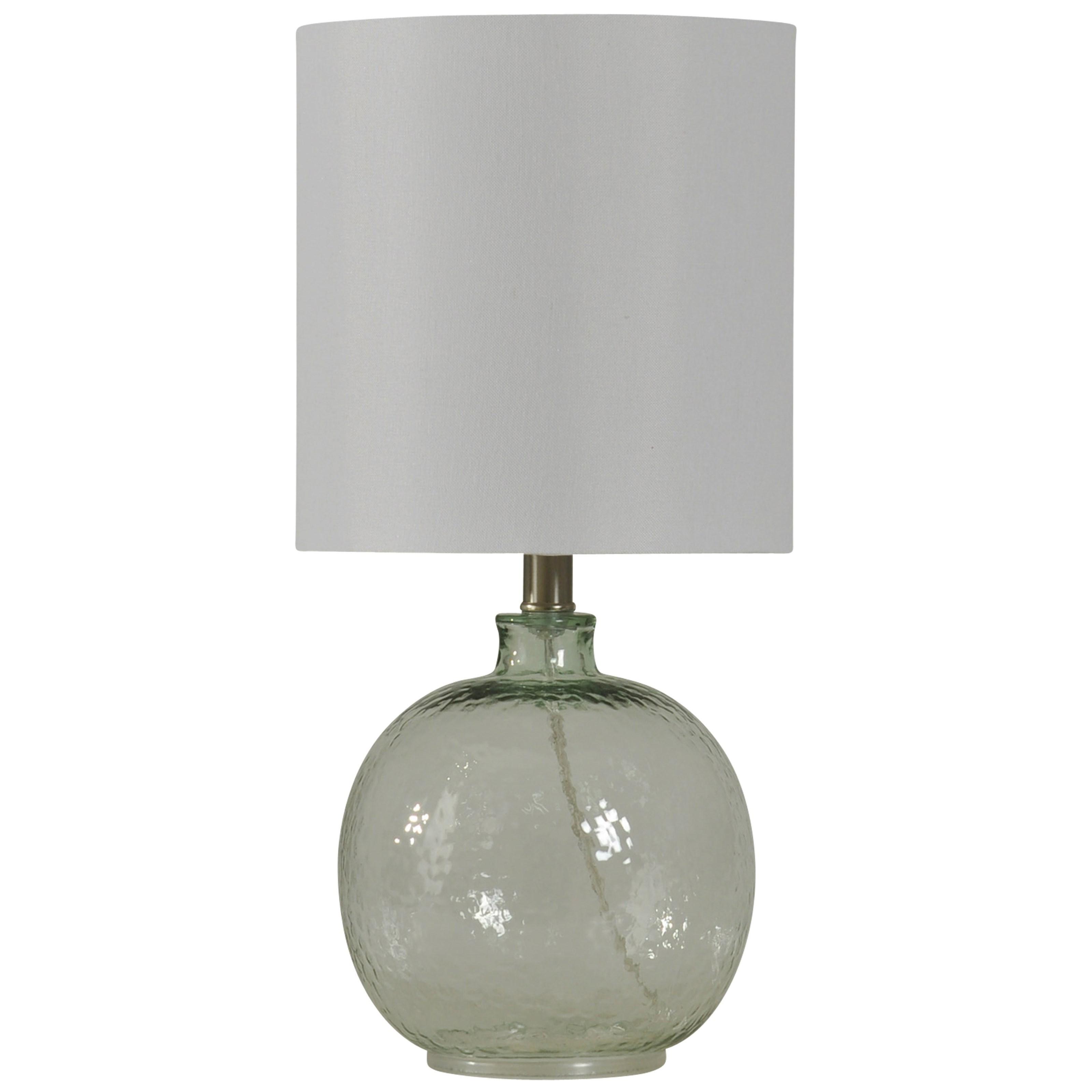 StyleCraft Lamps Mini Spanish Glass Ball Lamp - Item Number: L13167