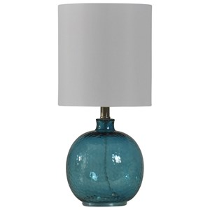 StyleCraft Lamps Mini Spanish Glass Ball Lamp