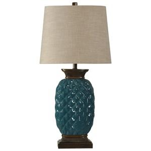 StyleCraft Lamps Ceramic Table Lamp