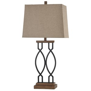 Metal Transitional Table Lamp