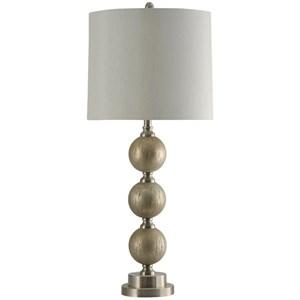 Elura Silver Lamp