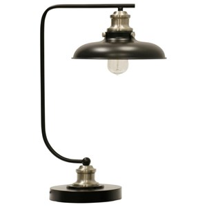Arvin Silver Lamp