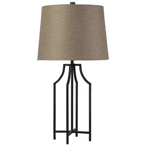 Bronzewood Iron Table Lamp