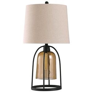 Malvern Amber Lamp