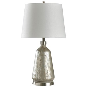 Carmel Silver Table Lamp