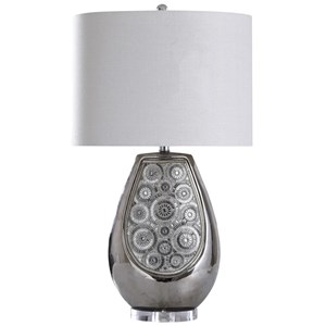 Selsey Silver Lamp