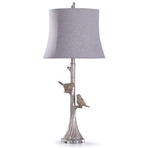 Galah Silver Lamp