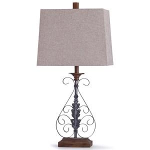 Bakewell Bronze Lamp