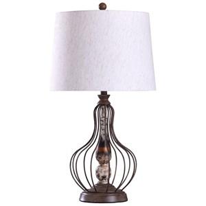 Yarrow Bronze Lamp