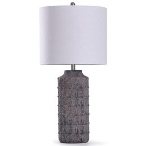 Binani Charcoal Concrete Lamp