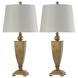 Pair of Traditional Table Lamps