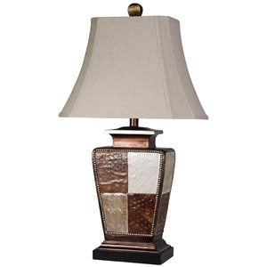 Austin Patchwork Table Lamp