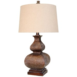 This Traditional Table Lamp