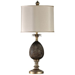 Traditional Pineapple Body Lamp
