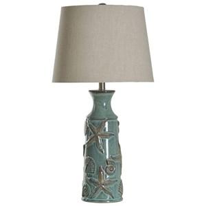 StyleCraft Lamps Nautical Ceramic Table Lamp