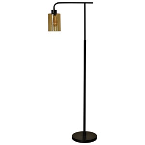 Edison & Bronze Metal Floor Lamp